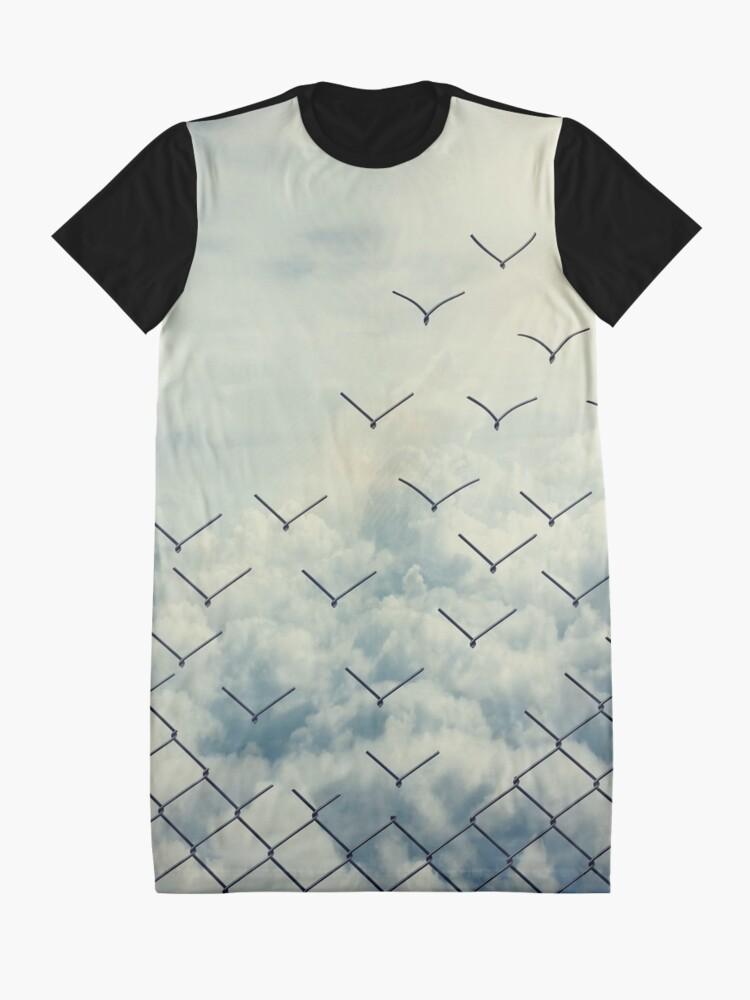 Alternate view of Magical ecape  Graphic T-Shirt Dress