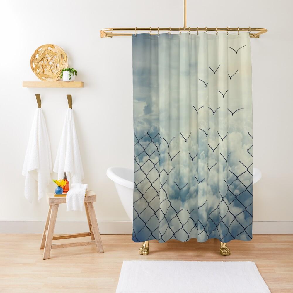 Magical ecape  Shower Curtain