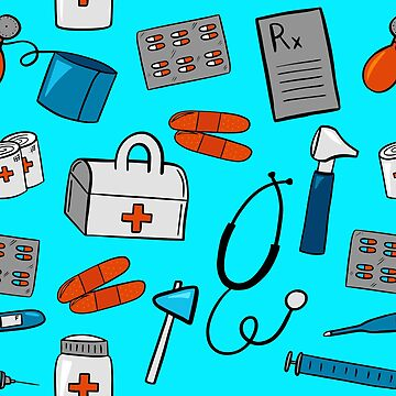 Medical Equipment Pattern by pamela4578