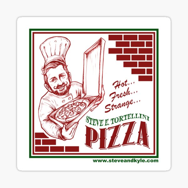 Steve E. Tortellini Sticker