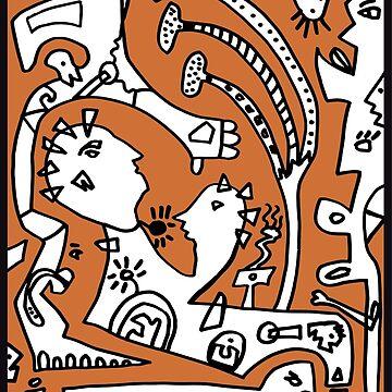 Ayahuasca IV by CHOPER