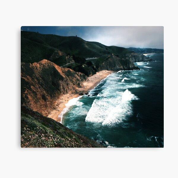 Big Sur Surf and Coastline  Canvas Print
