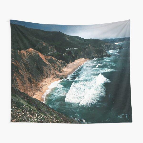Big Sur Surf and Coastline  Tapestry