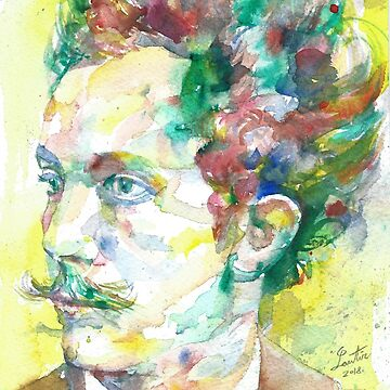 RICHARD STRAUSS - watercolor portrait.2 by lautir
