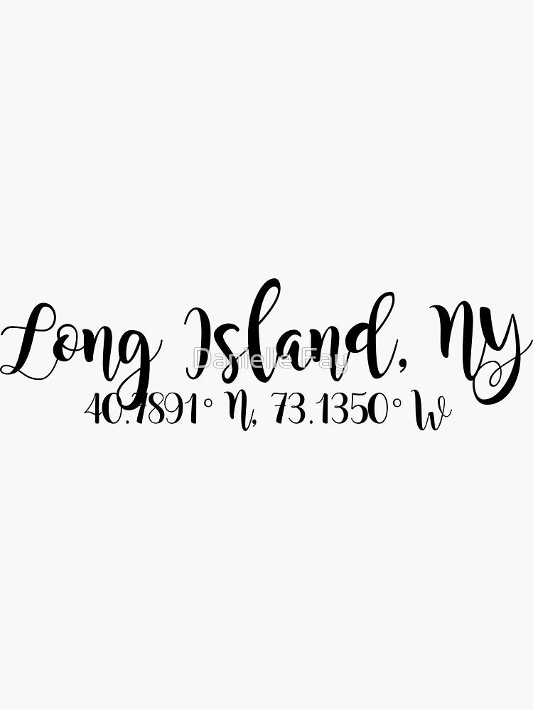 Long Island, NY de doodlesbydani