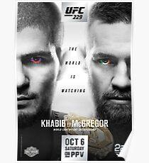 UFC 229: Khabib vs McGregor Official Event Poster (HQ) Poster