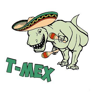 Dinosaur Mexican Rex by edleon
