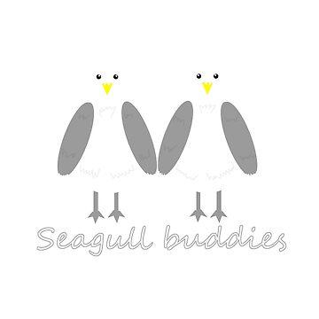 Seagulls Buddies by CamrosX