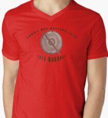 Locked Manhole Men's V-Neck T-Shirt