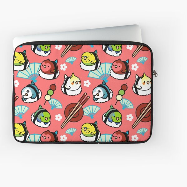 Sushi Time with Cody the Lovebird & Friends Laptop Sleeve