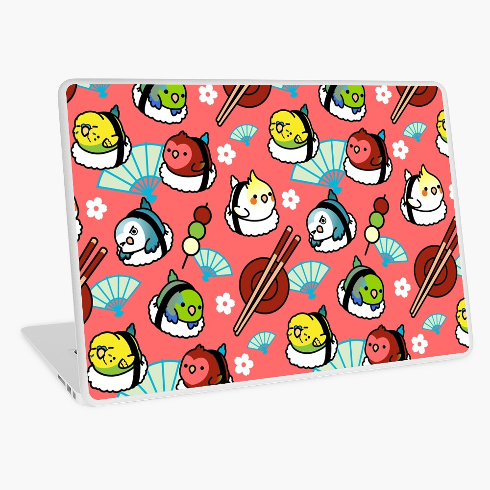 Sushi Time with Cody the Lovebird & Friends Laptop Skin