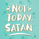 Nicht heute, Satan - Minze & Gold Palette von Cat Coquillette