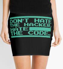 Retro Screen Hack Coder Hacking Code Mini Skirt