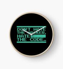 Retro Screen Hack Coder Hacking Code Clock