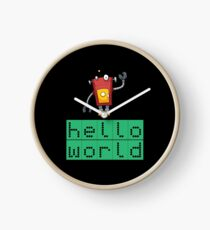 Retro Coding Kids Robot Science Award Clock