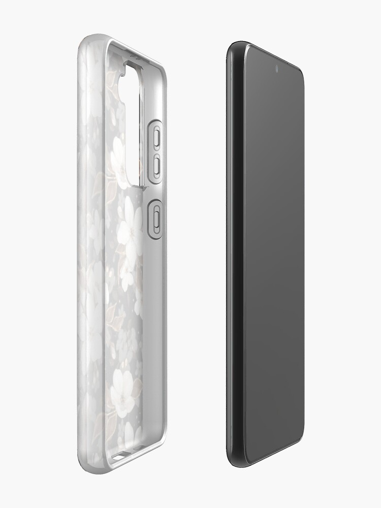 Alternate view of Apple flowers Case & Skin for Samsung Galaxy
