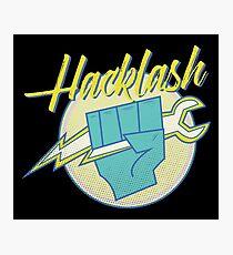 Hackathon 80s Retro Hacklash Team Coders Photographic Print