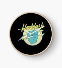 Hackathon 80s Retro Hacklash Team Coders Clock