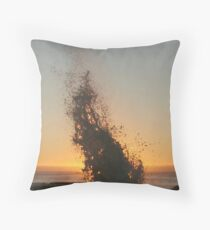 Waterfire Throw Pillow