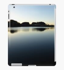 Indian summer sunset at the fishing lake V | waterscape photography iPad Case/Skin