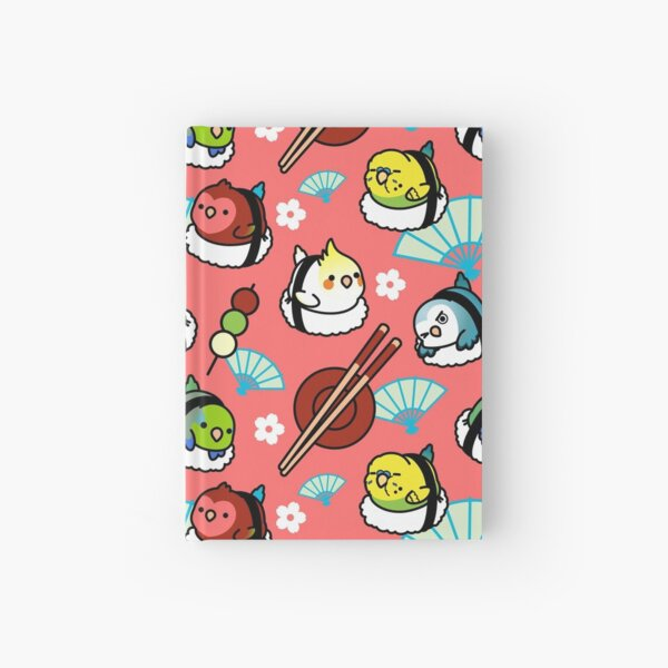 Sushi Time with Cody the Lovebird & Friends Hardcover Journal
