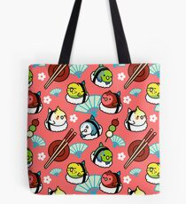 Sushi Time with Cody the Lovebird & Friends Tote Bag