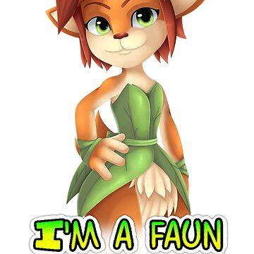 """Elora """"Im a faun you dork!"""" by ShinyhunterF"""