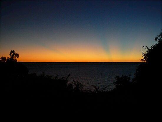 Sunset in Darwin by Georg Friedrich