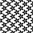 Decorative template with rhombus by starchim01
