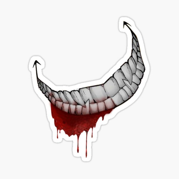 Evil Smile Sticker