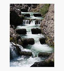 FALLING WATER Photographic Print