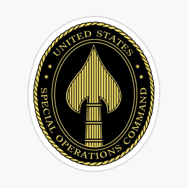 United States Special Operations Command Insignia Sticker