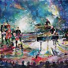 Pop Concert Painting Music Art Gallery by Ballet Dance-Artist