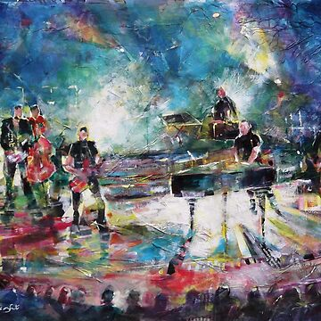Pop Concert Painting Music Art Gallery by ballet-dance