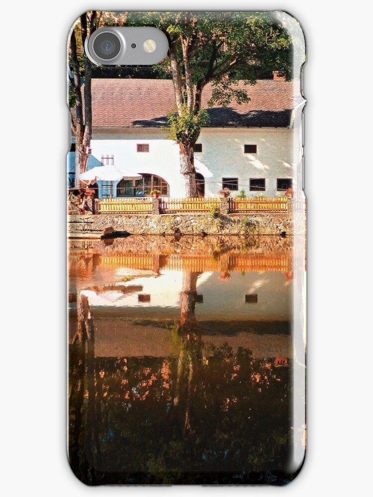 River reflections at the mill | waterscape photography by Patrick Jobst