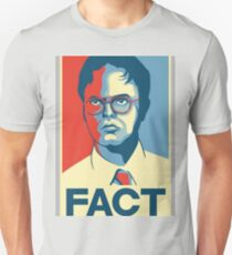 Fact - Dwight Schrute Unisex T-Shirt
