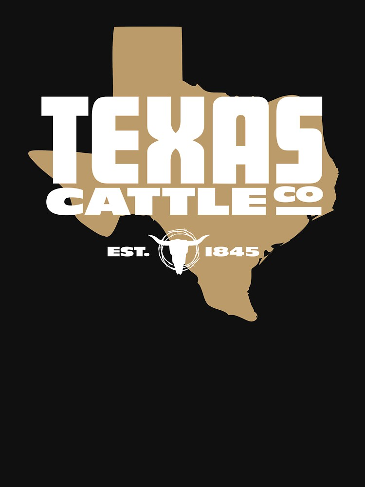 Texas Cattle Co. Faux Logo by DOODL