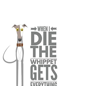 The whippet gets it by CharlyB