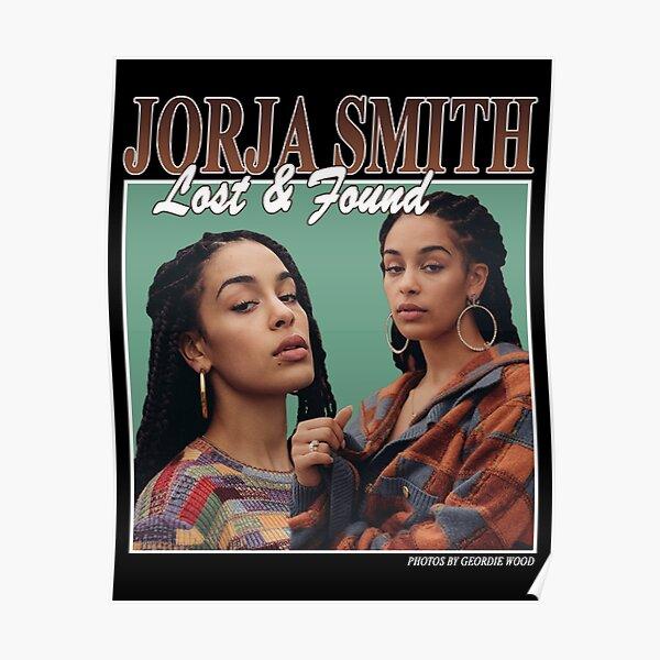 JORJA SMITH - Lost & Found (homage design) Poster