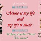 Wolfgang Amadeus Moozart Mozart Moose Music Mug by AnimalComposers