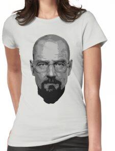 Breaking Bad - Heisenberg ( Vector ) Womens Fitted T-Shirt