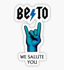Beto For Texas Rocks Sticker