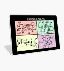 Biomolecule Structure Poster Laptop Skin