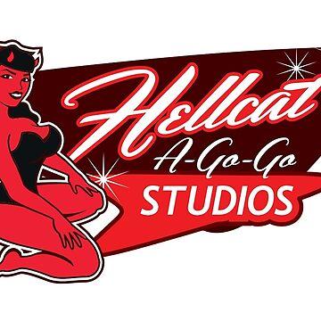 Hellcat A-Go-Go Studios Logo by Hellcatagogo