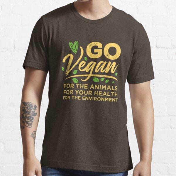 Go Vegan Essential T-Shirt