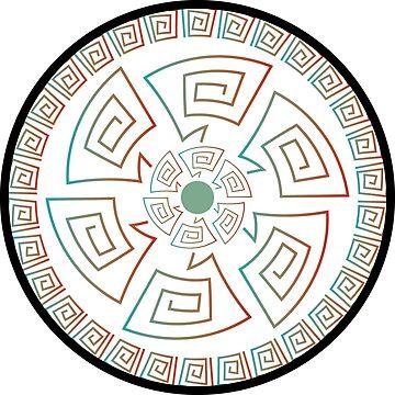 organic circle by open-eyes