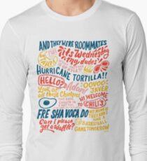 Camiseta de manga larga Arte de la aplicación Vine