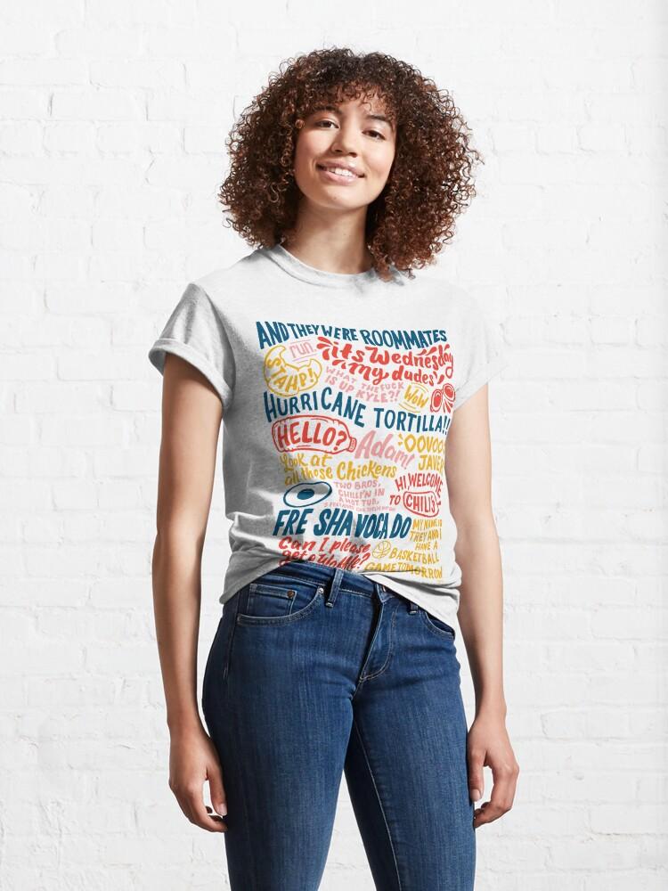 Alternate view of Vine app art  Classic T-Shirt