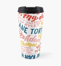 Vine app art  Travel Mug
