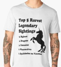 Top 5 rarest legendary signtings Men's Premium T-Shirt